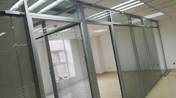 百叶隔断玻璃