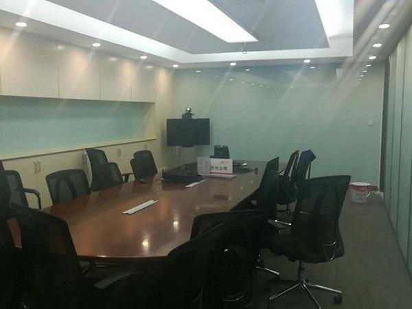 会议室玻璃背景墙