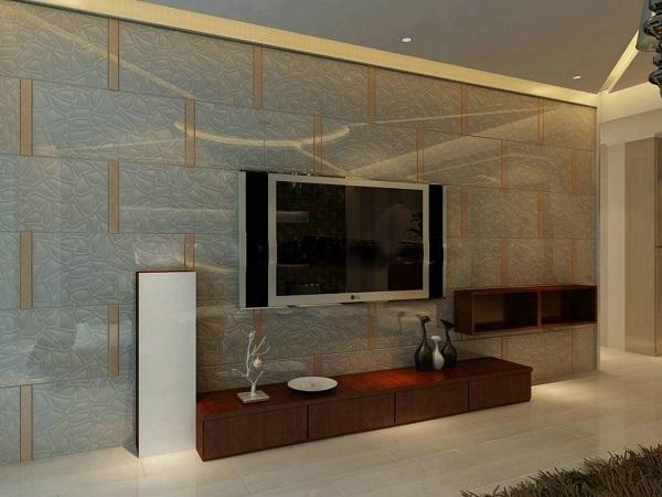 家庭电视背景玻璃幕墙