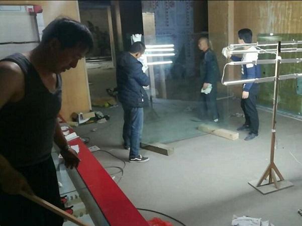 赛罕区市民服务中心博物馆8+8夹胶钢化玻璃