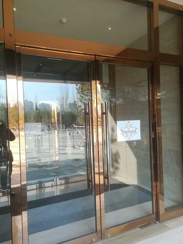 女神酒店不锈钢玻璃门